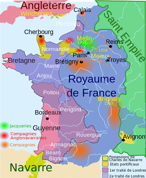 carte des Jaqueries